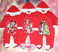 Человечек детский Дед Мороз трехнитка