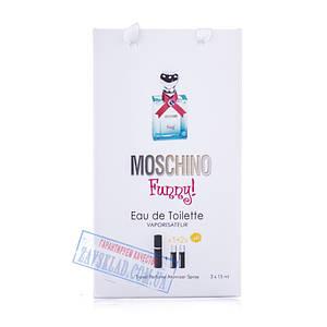 Набір подарункових жіночих парфумів Moschino funny 45 мл