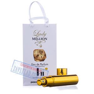 Набір подарункових жіночих парфумів Paco Rabanne lady million 45 мл