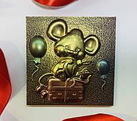 Шоколадная мышка с подарками. Новогодние шоколадные подарки 2020