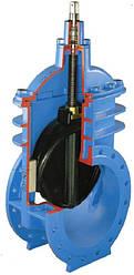 Задвижка с обрезиненным клином HAWLE (Хавле) 4000E2, от Ду250 до Ду600