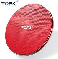 Бездротове зарядний пристрій TOPK B01W 10W Red