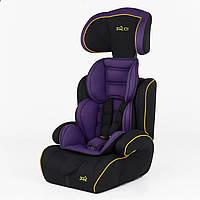 Автокресло-бустер детское фиолетовое, фото 1