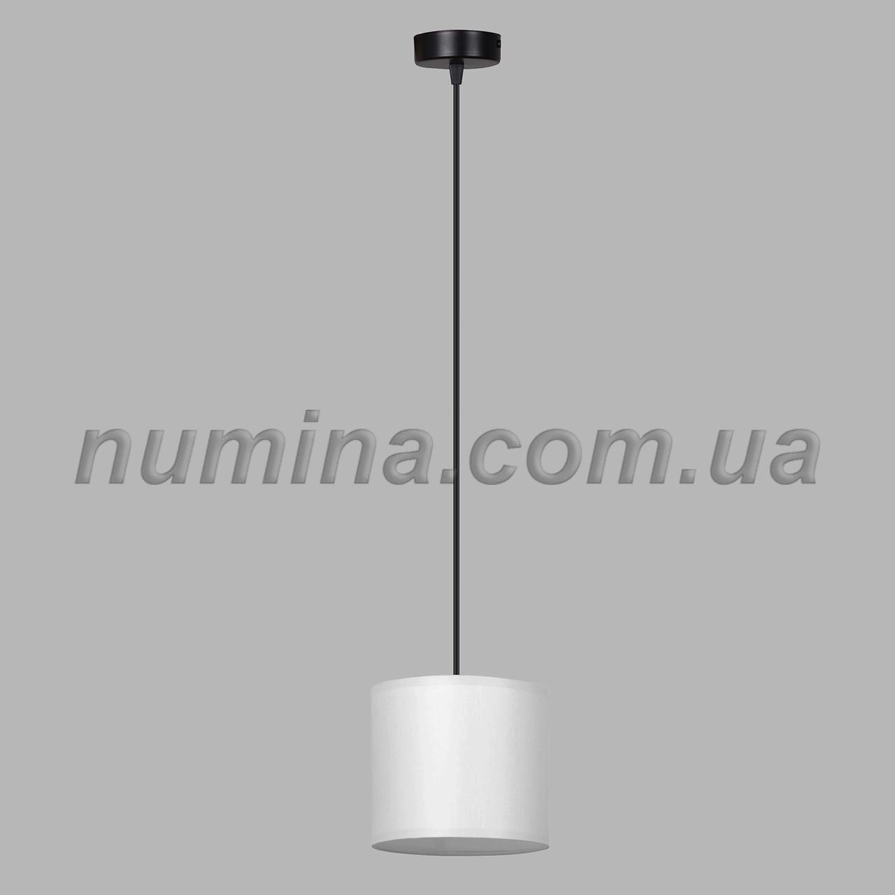 Люстра підвісна на одну лампу 29-S294/1B BK+WT