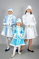 Детский карнавальный костюм Снегурочки