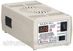 """Зарядное устройство """"АИДА 8si"""" 12В АКБ 4-160А*час"""