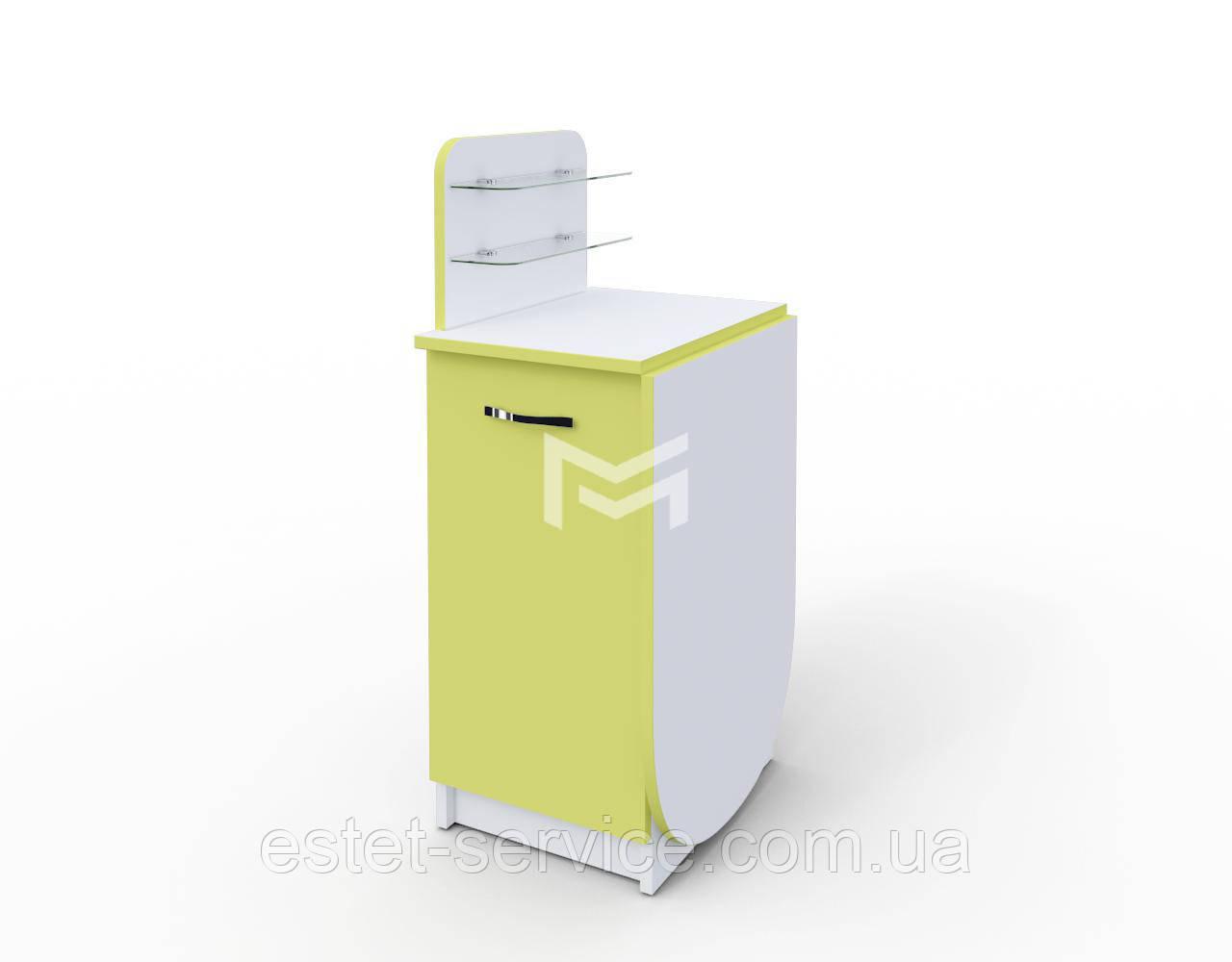 Маникюрный столик трансформер Практик с ФАСАДАМИ В ЦВЕТЕ М105К