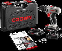 Акумуляторний шуруповерт CROWN CT21055L BMC