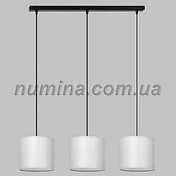 Люстра подвесная на три лампы 29-S294/3B BK+WT