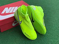 Футзалки (бампы) Nike Phantom Vision Academy Dynamic Fit IC салатовые