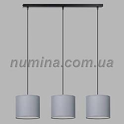 Люстра подвесная на три лампы 29-S294/3C BK+SM