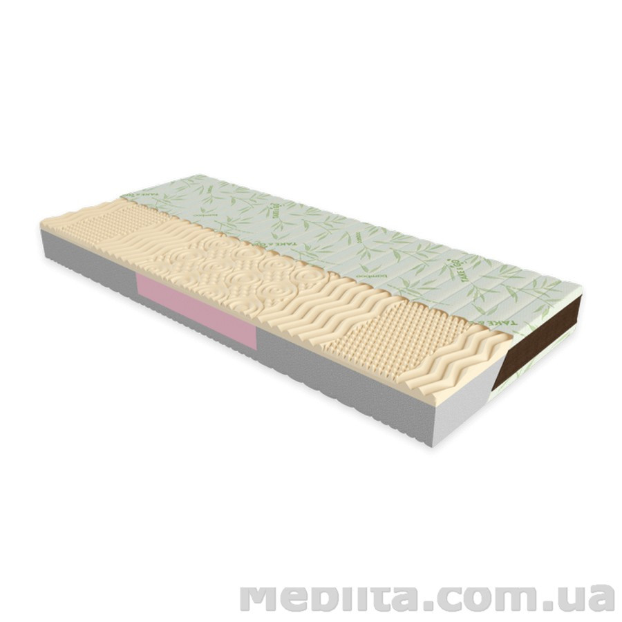 Ортопедический матрас Take&Go Bamboo NEO WHITE 90х200 ЕММ
