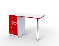 Маникюрный стол Классик без полок с ФАСАДАМИ В ЦВЕТЕ М106
