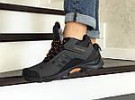 Мужские кроссовки Adidas Climaproof (серо-оранжевые) ЗИМА, фото 2