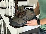 Мужские кроссовки Adidas Climaproof (темно-зеленые) ЗИМА, фото 3