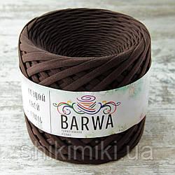 Трикотажная пряжа Barwa (7-9 мм), цвет Брауни