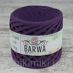 Трикотажная пряжа Barwa (7-9 мм), цвет Виноград