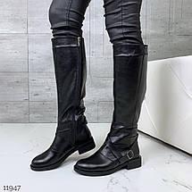 Сапоги кожаные высокие, фото 2