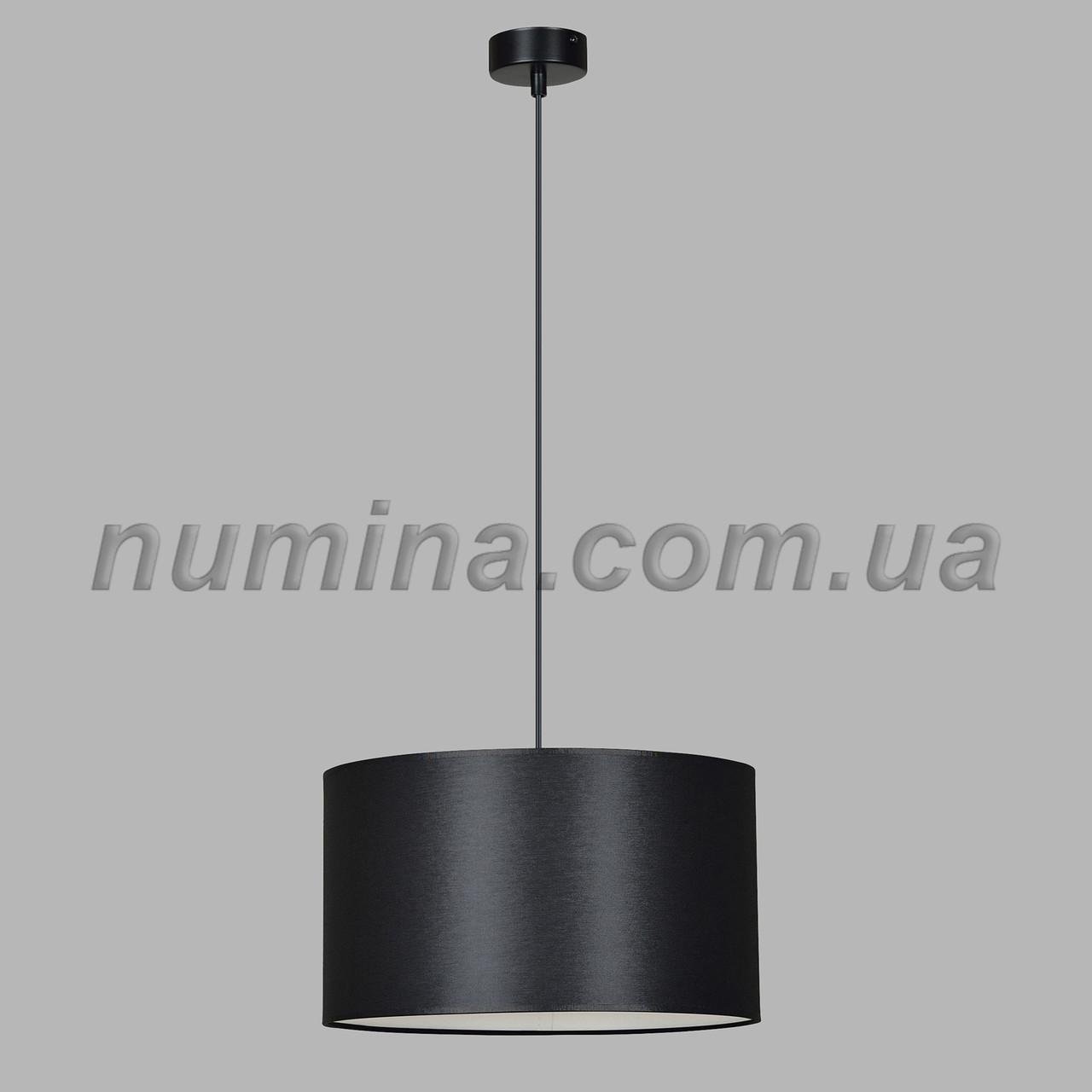 Люстра подвесная на одну лампу 29-S296/1A BK+BK