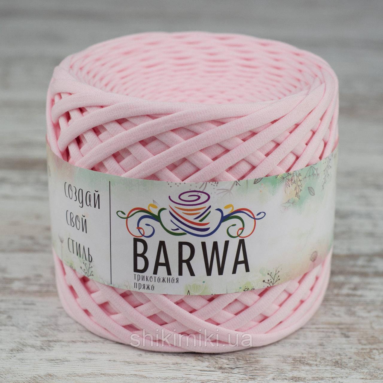 Трикотажная пряжа Barwa (7-9 мм), цвет Зефир