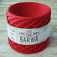 Трикотажная пряжа Barwa (7-9 мм), цвет Мак