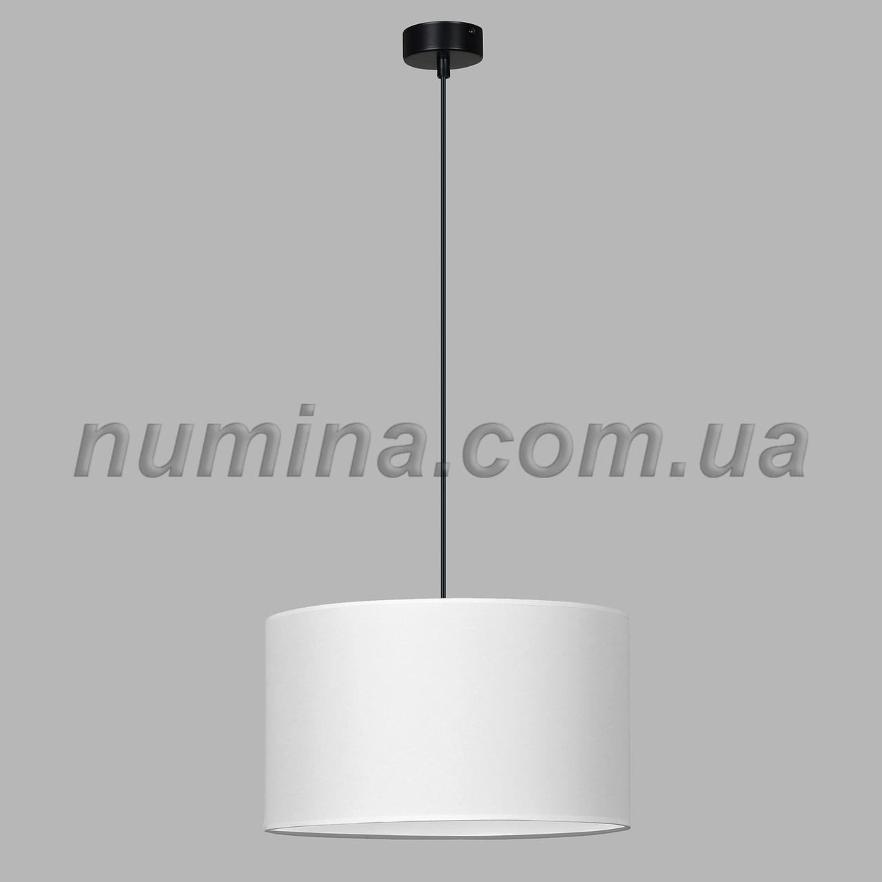 Люстра подвесная на одну лампу 29-S296/1B BK+WT