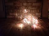 Светодиодная LED гирлянда фламинго белый теплый 12шт 5м, фото 3