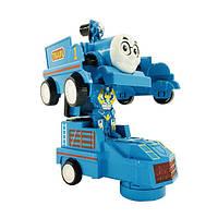 Машинка робот трансформер 2в1 Паровоз