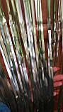 Дождик на фотозону зеленый матовый - (высота 2,45м, ширина 92см), двухсторонний, фото 4