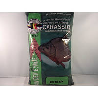 Прикормка VDE  CARASSIO RED (красная)  1 kg
