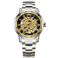Мужские  механические часы Winner Skeleton с браслетом!, фото 1