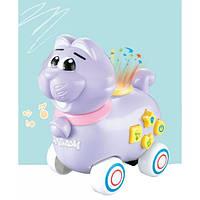 Игрушка Электронная Музыкальная Лед лампа Мультяшный кот D Jin Shang Lu фиолетовый