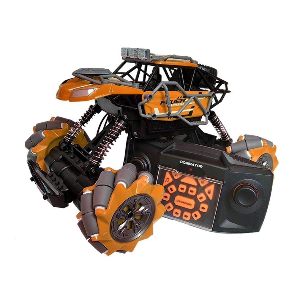 Трюковая машинка на радиоуправлении, вездеход Fever Buggy4WD 4x4 Оранжевый