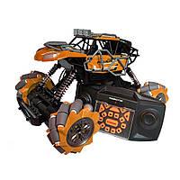 Трюковая машинка на радиоуправлении, вездеход Fever Buggy4WD 4x4 Оранжевый, фото 1