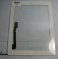 Сенсор (Touch screen) iPad 4 white h/c з кнопкою Home