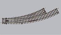PIKO A-Gleis 55222 Стрелочный перевод радиусный, BWL c радиуса  R3 на R4  / 1:87, фото 1