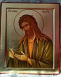 Икона Иоанна Крестителя на ковчежной доске, фото 3