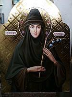 Икона храмовая писаная Преподобная Елена Флоровская