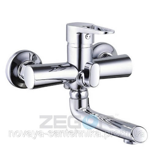 Смеситель для ванной поворотный излив, PUD3