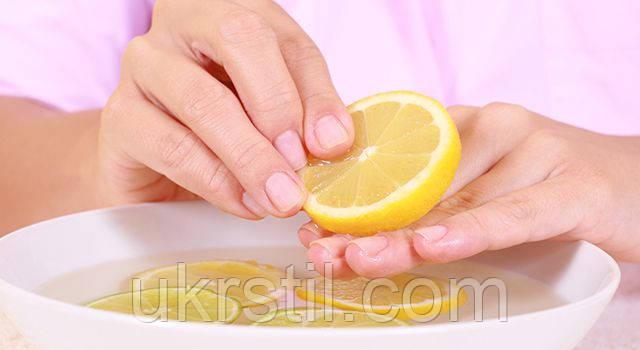 Как можно отбелить кончики ногтей