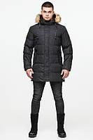 Куртка стильная зимняя Braggart Youth - 25070 черная