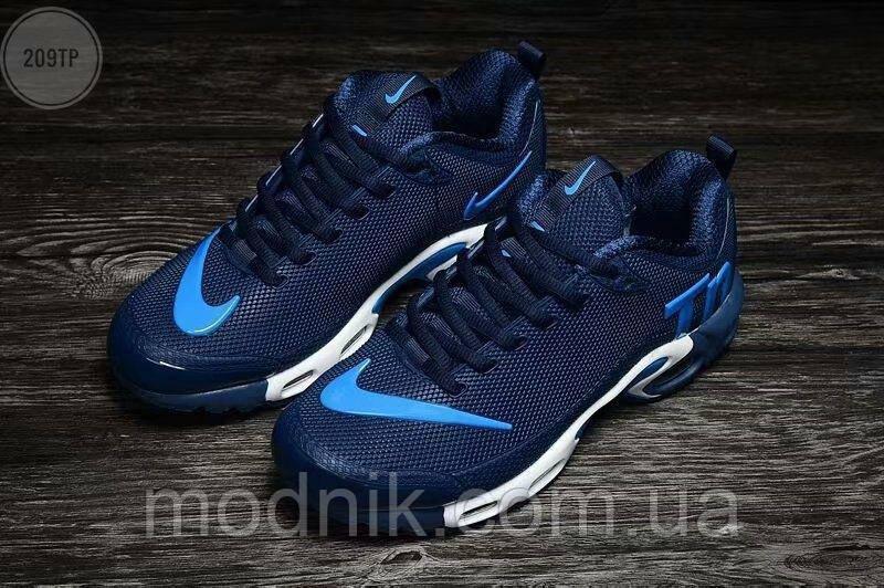 Мужские кроссовки Nike TN Air Blue Kauchuk