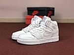 Женские кроссовки Nike Air Jordan 1 Retro (белые), фото 2