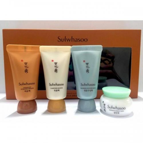 Комплекс для ухода за кожей лица Sulwhasoo Mask Minikit 4 items