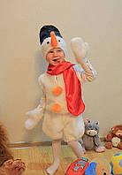 Снеговик Детский новогодний костюм, фото 1