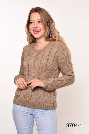 Вязаные женские свитера оптом и в розницу NL-VE 3704-1, фото 2
