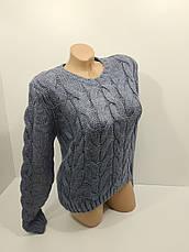 Вязаные женские свитера оптом и в розницу NL-VE 3704-1, фото 3