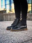 Зимние ботинки Dr. Martens (черные) - Унисекс, фото 2