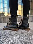 Зимние ботинки Dr. Martens (черные) - Унисекс, фото 5