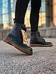 Зимние ботинки Dr. Martens (черные) - Унисекс, фото 6